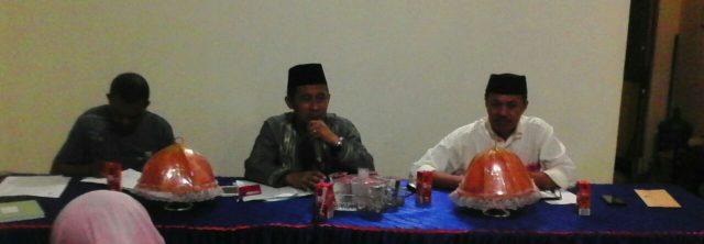 Kecamatan Manggala melakukan Rapat Koordinasi dengan para Lurah sekecamatan Manggala, Rabu(29/6/16).