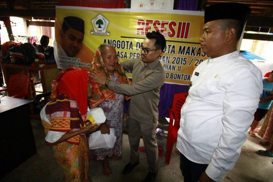 Anggota Komisi B DPRD Makassar, H. Sahruddin Said (F-Golkar)
