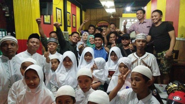 Fasruddin Rusli, Rahman Pina, A2 Management dan Anak Panti Asuhan. Rabu (13/7/16)
