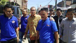 Danny Pumanto Sambangi Warga Kelurahan Panaikang, Sabtu (27/8/16)