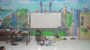 Ruang kelas v disulap