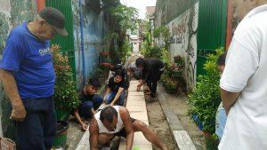 Tokoh masyarakat dan Unsur pemuda Kelurahan Biringromang melakukan percepatan penataan Longgar Idaman